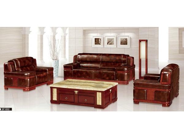 木质办公沙发